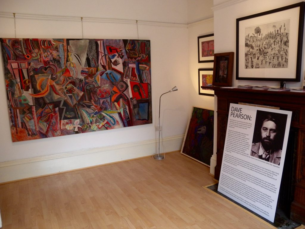The Dave Pearson studio